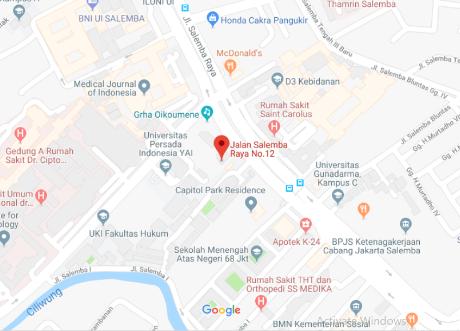 Peta Perwakilan LAI